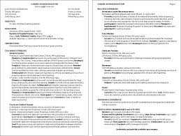 Resume Examples For Child Care Examples Of Resumes Childcare Resume