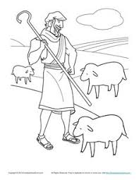 Small Picture The Sheep the Goats Matthew 25 Puzzle Lost Sheep and Good