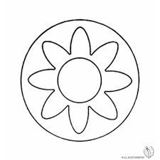 Disegno Di Mandala 3 Da Colorare Per Bambini