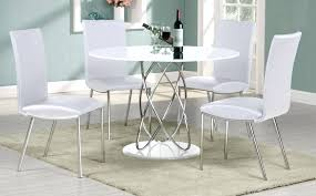 new round white dining table modern for how to set the round white dining table set