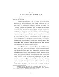 Budi pekerti adalah kata majemuk kata budi dan pekerti merupakan gabungan kata yang berasal dari bahasa sangsekerta dan bahasa indonesia. 14 Bab Ii Tinjauan Umum Tentang Moralitas A Pengertian