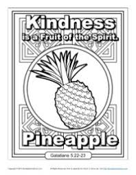 Small Picture Fruit of the Spirit for Kids Kindness Coloring Page