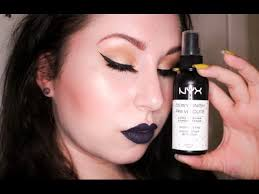 nyx dewy setting spray review