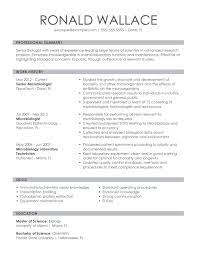 If you are wondering how to best communicate these qualities on your cv, consulting our agriculture cv example is a great resource. Professional Biology Resume Examples For 2021 Livecareer