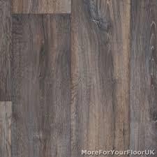 dark brown vintage wood plank vinyl flooring kitchen bathroom lino 2m 3m 4m