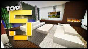 Minecraft Living Room Furniture Minecraft Living Room Designs Ideas Youtube
