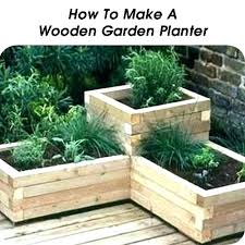 patio garden box ou wooden planters vegetable planter boxes deck row of window for design designs