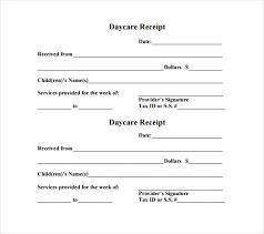 Child Care Receipt 24 Daycare Receipt Templates Pdf Doc Free Premium Templates Child