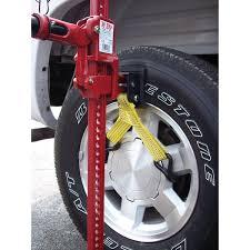 hi lift jack wheel straps