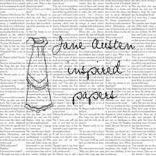 jane austen scrapbook paper pride prejudice digital  jane austen scrapbook paper pride prejudice digital able scrapbooking backgrounds 6 00