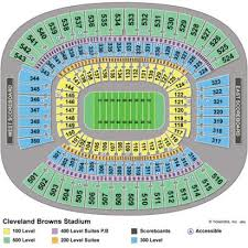 Cleveland Browns Stadium Seating Chart View Fhs Entertainment