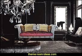 Modern Luxury Velvet Sofa   Savoy Moulin Rouge Victorian Boudoir Style  Bedroom Decorating Ideas   Moulin