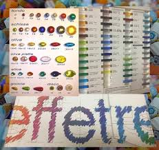 Effetre Color Chart Colors Of Murano Glass Beads It Starts With The Canes