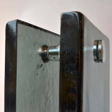 and pull glass door handle push fire paddle handle full size