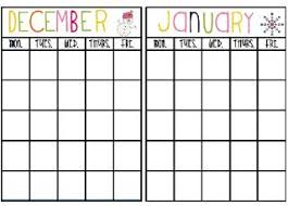 Monthly Reward Chart Template Free Monthly Behavior Chart Printables Classroom Behavior
