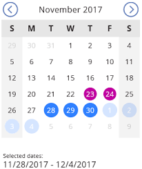 Building An Interactive Calendar View With Powerapps David
