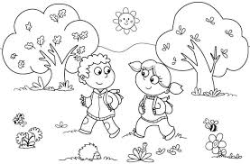32 First Day Of Preschool Coloring Pages, First Day Of Preschool ...