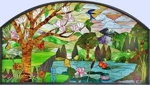 stained glass windows custom leaded glass beveled windows custom glass design
