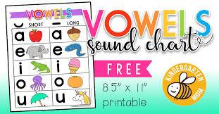 Free Vowel Charts Worksheets Printables