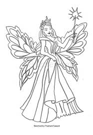 Small Picture Fairy Coloring Pages to Bring Out the Hidden Artist in Your Child