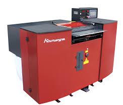 kamege k520l plc band knife splitting machine 520mm width leather splitter machine phone case furniture automotive making