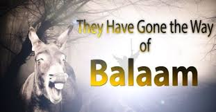 Image result for error of balaam