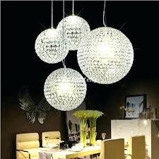 round glass ball chandelier round glass ball chandelier new crystal round ball chandeliers led lighting indoor