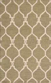 details about hand tufted geometric sage green oushak trellis indian oriental area rug