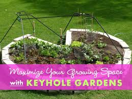 Keyhole Garden Design Fascinating Keyhole Garden Design Growing More With Fewer Paths By R Jamrok
