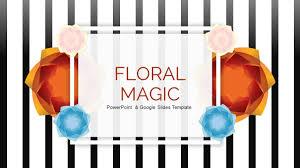 Floral Magic Free Powerpoint Google Slides Presentation