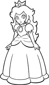 Mario Kart 8 Coloring Pages Rosalina