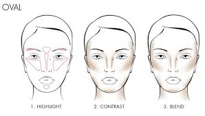 how to contour an oval face 40plusstyle