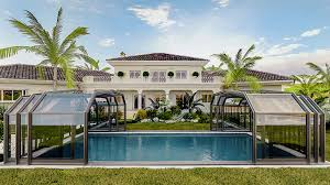 why polycarbonate enclosure is better than glass polycarbonate panels vs glass sunshield large pool