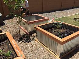 planter box idea using toughs