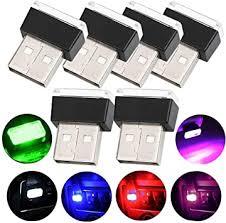 WENTS <b>6PCS Car</b> USB Lighting <b>Universal</b> Mini USB LED Wireless...