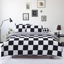 best black and white checd duvet cover 62 on covers comfy queen along with 18