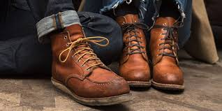 how to break in leather red wing boots