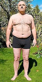 The fat bloke's slimmer! After shedding 3st, Bruce Byron reveals the simple  secrets that proved so successful   Daily Mail Online