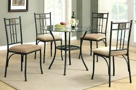round glass table set glass round dining table for 4 round glass dining table set within