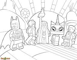 Small Picture The LEGO Movie Coloring Pages Free Printable Best Of Lego Color