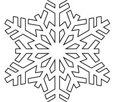 Printable Snowflake Stencil Drawing Snowflakes Printable Snowflake