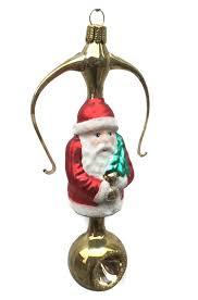 Tollkühn Christbaumschmuck Lyra Mit Weihnachtsmann Von Der