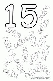 Small Picture Number 15 Coloring Page GetColoringPagescom