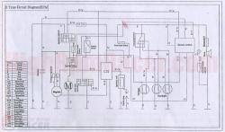 atv 110 wiring diagram chinese atv electrical schematic at Loncin 110cc Atv Wiring Diagram