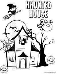 Small Picture Free Printable Coloring Sheets Halloween Haunted House For Boys