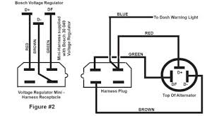 new page  please note the slight but important differences in the two diagrams below note that the blue wire coming from the motorola voltage regulator