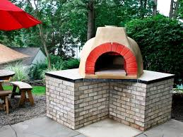 how to build an outdoor fireplace with oven