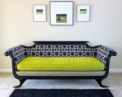 contemporary victorian furniture. Nice Modern Victorian Furniture Antique Duncan Phyfe Sofa Redesigned For Times In Shocking Chartreuse. Contemporary I
