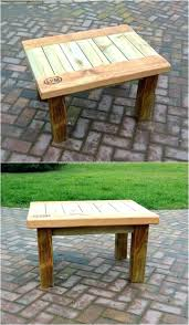 garden furniture made with pallets. Patio Furniture Made Of Pallets Little Table With Wood From Garden