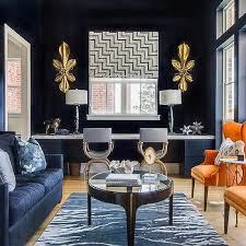 Navy Blue Living Room Inspiration Navy Blue And Gold Living Room Decor Nakedsnakepress